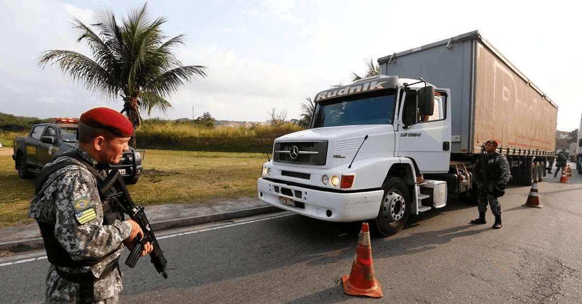BRASIL REGISTROU 22 MIL ROUBOS DE CARGAS EM 2018