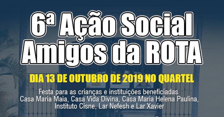 GRUPO MACOR PARTICIPA DA 6ª AÇÃO SOCIAL AMIGOS DA ROTA