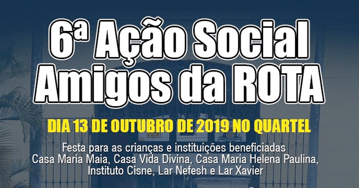 AÇÃO SOCIAL DA ROTA