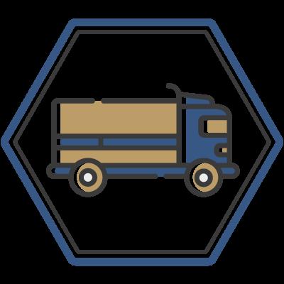 Ícone - Tipos de carga para Escolta Armada