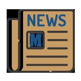 Ícone da sessão para os artigos da página Macor News