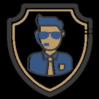 Ícone - Segurança Física e Proteção Pessoal