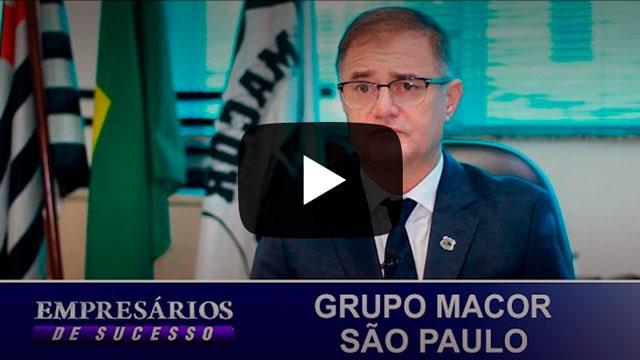 Miniatura com ícone de play do vídeo: GRUPO MACOR SÃO PAULO, EMPRESÁRIOS DE SUCESSO