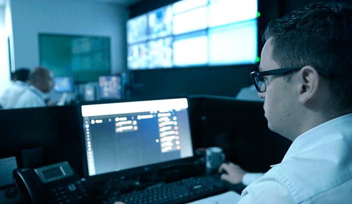 CFTV e Alarmes - Central de Monitoramento